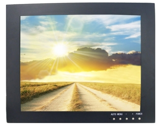 17inch Sunlight Readable LCD monitor  with VGA, HDMI, YPbPr, AV1, AV2, AV out